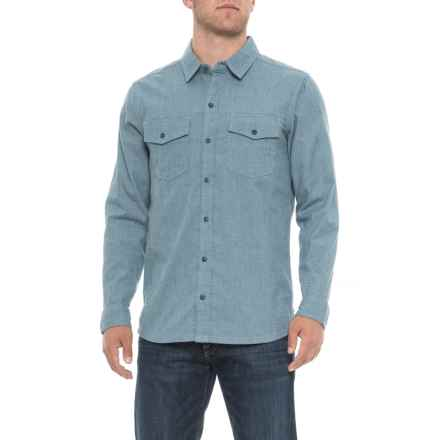 Toad&Co Oxford Vault Button-Down Shirt - Long Sleeve (For Men) in Weathered Blue - Overstock