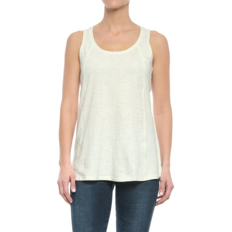 Toad&Co Paintbrush Tank Top - Organic Cotton (For Women) in Egret