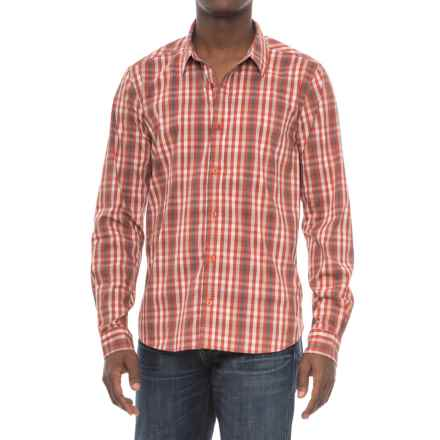 Toad&Co Panorama Shirt - UPF 25+, Organic Cotton, Long Sleeve (For Men) in Red Clay - Overstock