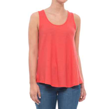 Toad&Co Papyrus Flowy Tank Top - Sleeveless (For Women) in Spiced Coral - Closeouts
