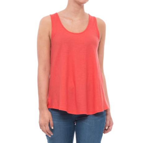 Toad&Co Papyrus Flowy Tank Top - Sleeveless (For Women) in Spiced Coral