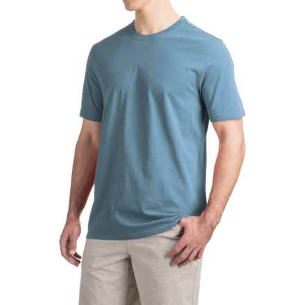 Toad&Co Peter T-Shirt - Organic Cotton, Short Sleeve (For Men) in Moody Blue - Closeouts