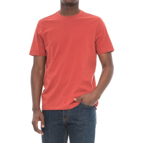 Toad&Co Peter T-Shirt - Organic Cotton, Short Sleeve (For Men) in Red Clay