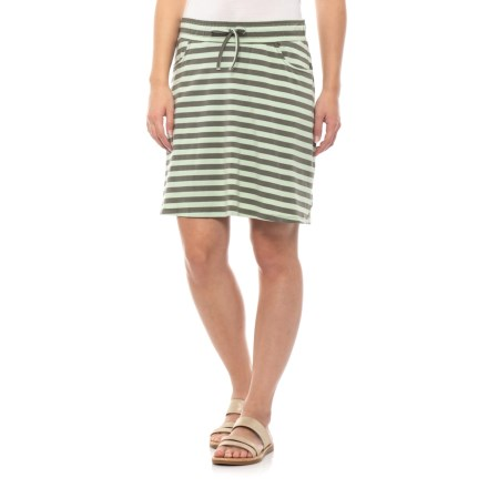 82aa221da3 Toad&Co Pistachio Stripe Tica Skirt - Organic Cotton (For Women) in  Pistachio Stripe -