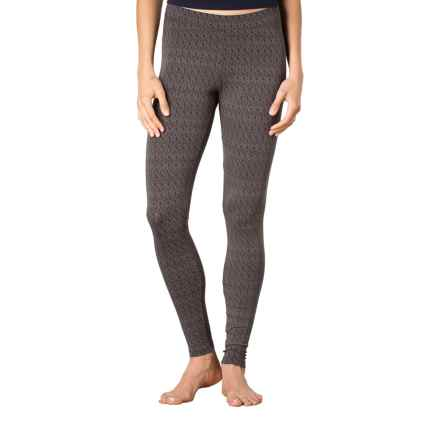 Toad&Co Printed Lean Leggings - Organic Cotton-Modal (For Women) in Buffalo Geo Print - Closeouts