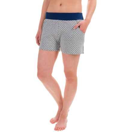 Toad&Co Profundo Sleep Shorts - Organic Cotton-TENCEL® (For Women) in Heather Gray - Closeouts