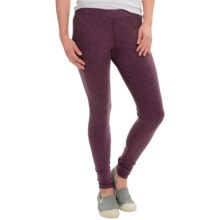 Toad&Co Ribbed Leap Leggings - Modal Blend (For Women) in Tyrian Purple - Closeouts