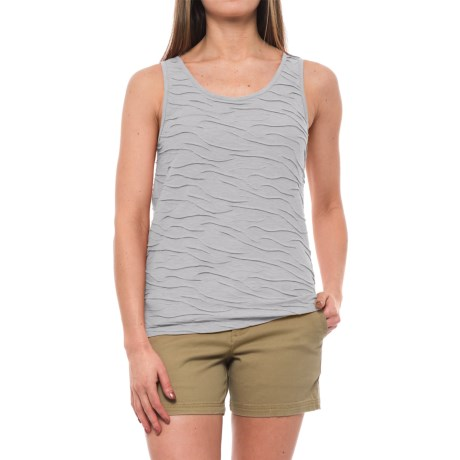 Toad&Co Samba Wave Tank Top - Organic Cotton-TENCEL® (For Women) in Heather Grey