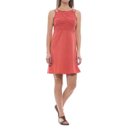 Toad&Co Sambasol TENCEL® Dress - Sleeveless (For Women) in Spiced Coral - Closeouts