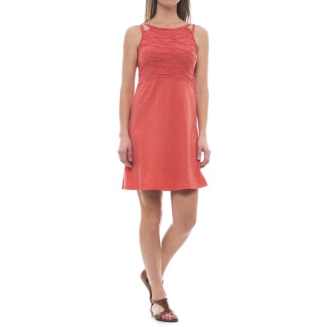 Toad&Co Sambasol TENCEL® Dress - Sleeveless (For Women) in Spiced Coral