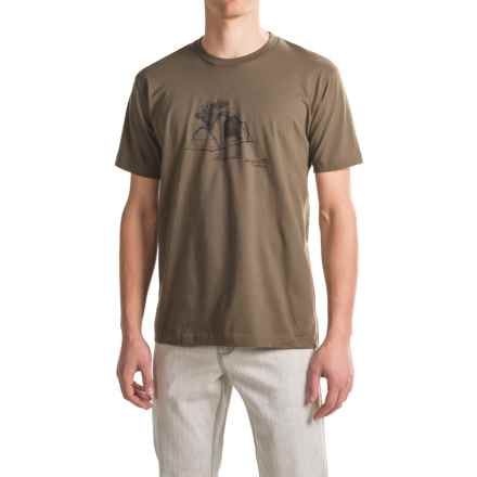 Toad&Co Shelter T-Shirt - Organic Cotton, Short Sleeve (For Men) in Jeep - Closeouts