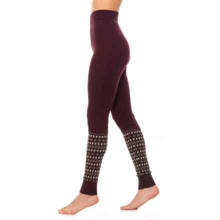 Toad&Co Shire Sweater Leggings - Merino Wool (For Women) in Mahogany - Closeouts