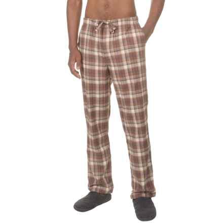 Toad&Co Shuteye Pajama Pants (For Men) in Dark Chestnut - Closeouts