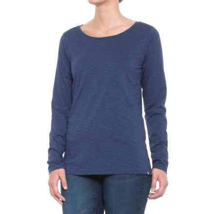 Toad&Co Sia T-Shirt - Long Sleeve (For Women) in Mariner Blue - Closeouts