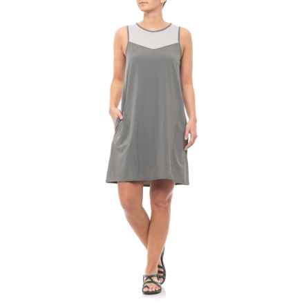 Toad&Co Smoke Sunkissed Swing Dress - UPF 40+, Sleeveless (For Women) in Smoke - Closeouts