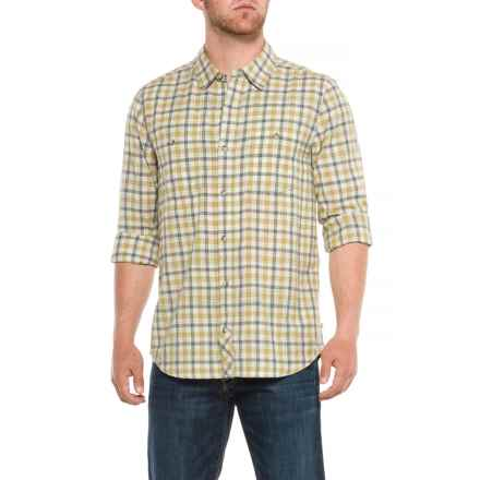 Toad&Co Smythy Plaid Shirt - Organic Cotton, Long Sleeve (For Men) in Light Ash - Closeouts