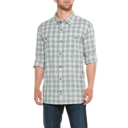 Toad&Co Smythy Plaid Shirt - Organic Cotton, Long Sleeve (For Men) in Weathered Blue - Closeouts