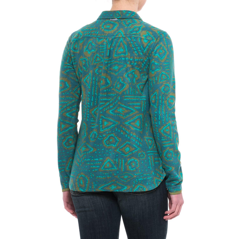 Toad Co Sundowner Lightweight Microfleece Shirt For Women