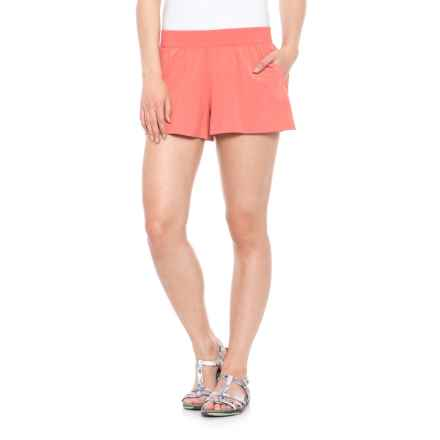 Toad&Co Sunkissed Shorts - UPF 40+ (For Women) in Spiced Coral - Closeouts