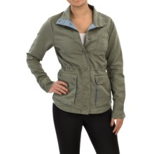 Toad&Co Swept Away Jacket - Linen-Organic Cotton (For Women) in Dusty Olive - Closeouts