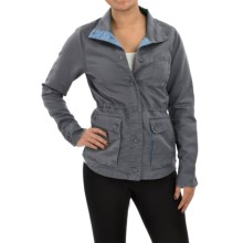 Toad&Co Swept Away Jacket - Linen-Organic Cotton (For Women) in Storm Grey - Closeouts