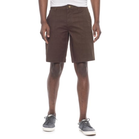 """Toad&Co Swerve Shorts - 10.5"""" (For Men) in Dark Roast"""