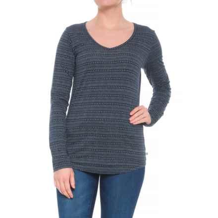 Toad&Co Tamaya Dos Tunic Shirt - Organic Cotton, 3/4 Sleeve (For Women) in Black - Closeouts