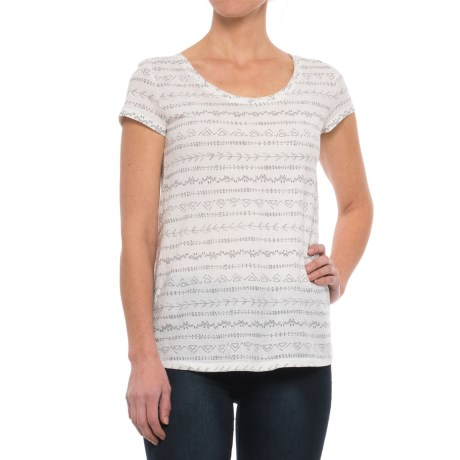 Image of ToadandCo Tissue Cross-Back T-Shirt - Organic Cotton, Short Sleeve (For Women)
