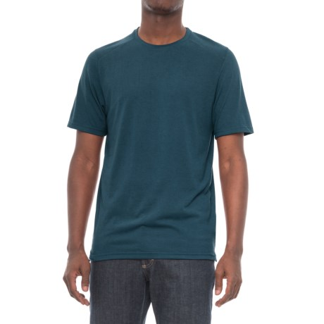 Toad&Co Trailbreak T-Shirt - Crew Neck, Short Sleeve (For Men) in Blue Abyss