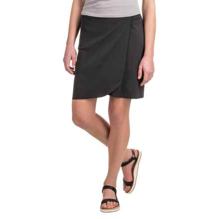 Toad&Co Whirlwind Skirt - UPF 40+ (For Women) in Black - Closeouts
