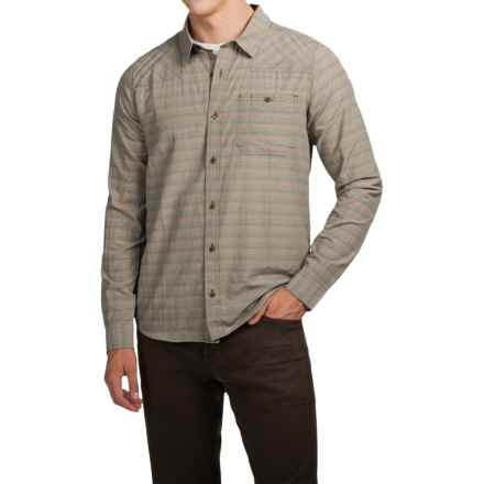 Toad&Co Wonderer Shirt - Organic Cotton, Long Sleeve (For Men) in Jeep - Closeouts