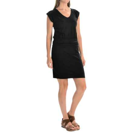 Toad&Co Zeta Dress - Sleeveless (For Women) in Black - Closeouts