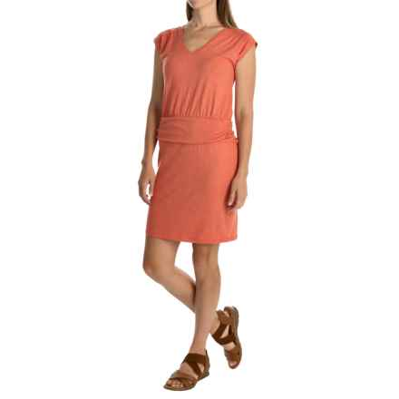 Toad&Co Zeta Dress - Sleeveless (For Women) in Cedar - Closeouts