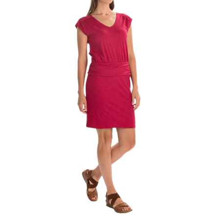 Toad&Co Zeta Dress - Sleeveless (For Women) in Cerise - Closeouts