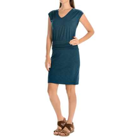 Toad&Co Zeta Dress - Sleeveless (For Women) in Inky Teal - Closeouts