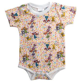 Toast & Jammies Printed Romper - Cotton (For Infants and Toddlers)