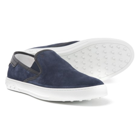 Tod's Made in Italy Casual Sneakers - Suede (For Men) in Galaxy/Blue
