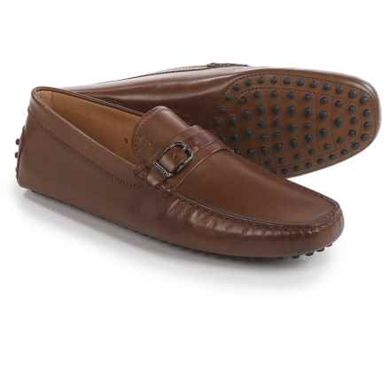 Tod's Slip-On Buckle Loafers - Leather (For Men) in Brown - Closeouts