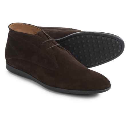 Tod's Suede Chukka Boots (For Men) in Brown - Closeouts