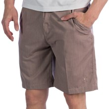 Toes on the Nose Sayulita Shorts (For Men) in Brown - Closeouts