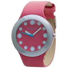 TOKYObay Gelato Watch - Vegan Leather Strap (For Women) in Pink/Pink - Closeouts