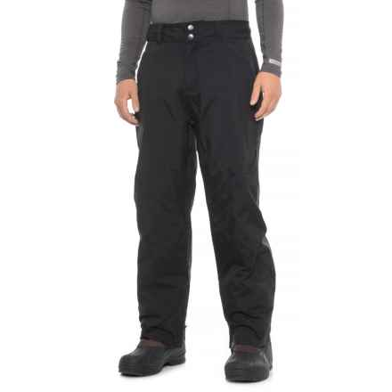 Tomahawk International Burning Arrow Ski Pants - Waterproof (For Men) in Black - Closeouts