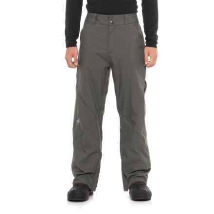 TOMAHAWK INTERNATIONAL Burning Arrow Ski Pants - Waterproof (For Men) in Grey - Closeouts