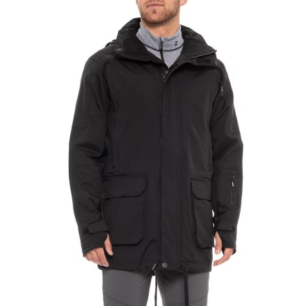 7c7d35bfb Tomahawk International Totem Jacket - Waterproof (For Men) in Black -  Closeouts