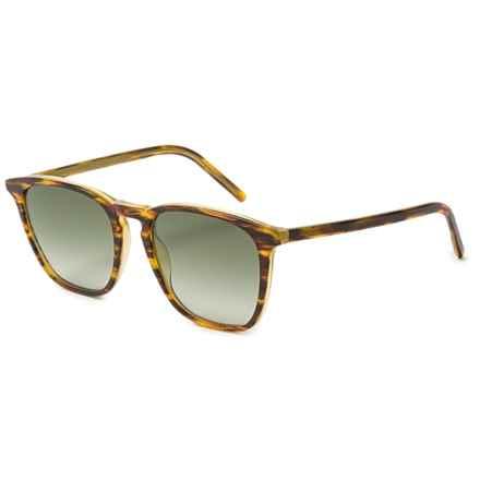 Tomas Maier Melange Wayfarer Sunglasses in Copper/Copper Brown - Overstock