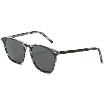 Tomas Maier Melange Wayfarer Sunglasses in Grey/Grey Grey - Overstock