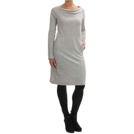 Tommy Bahama Aldwyn Dress - Long Sleeve (For Women) in Fossil Grey Heather - Overstock