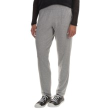 Tommy Bahama Aldwyn French Terry Slim Pants (For Women) in Fossil Grey Heather - Overstock