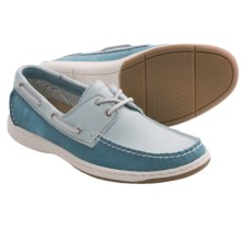 Tommy Bahama Arlington Boat Shoes - Leather (For Men) in Blue - Closeouts