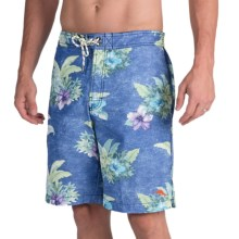 Tommy Bahama Baja Hibiscus Hukilau Swim Trunks (For Men) in Deep Water - Closeouts